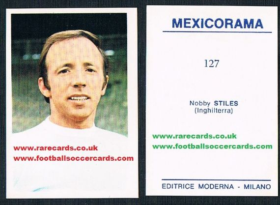 1970 Nobby Stiles 127 Mexicorama
